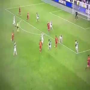 Gigi Buffon last minute save vs Roma
