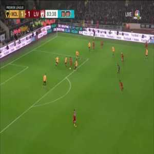 Wolves 1-[2] Liverpool - Firmino 84'