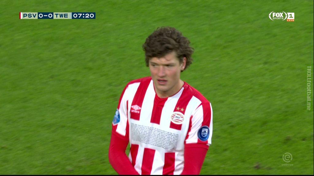 PSV got a new shirt sponsor