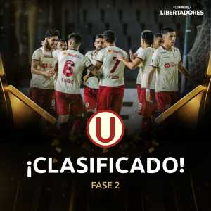 Universitario have advanced to the Second Stage (Qualifying) of the Copa Libertadores