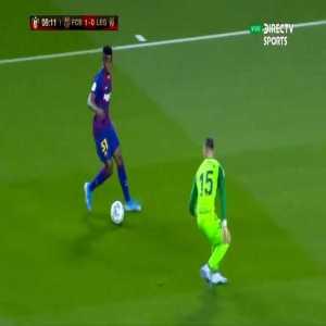 Griezmann (FC Barcelona) disallowed goal vs Leganés