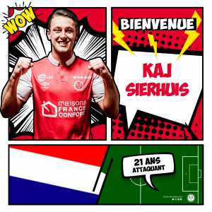 Official: Kaj Sierhuis joins Stade de Reims