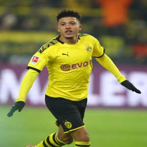 Jadon Sancho became the first player in the Bundesliga history to reach the mark of 25 Bundesliga goals before his 20th birthday