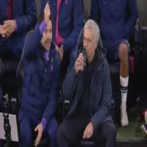 Jose Mourinho from smile to rage in seconds