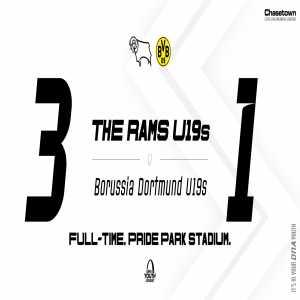 Derby County U19 3-1 Borusssia Dortmund U19