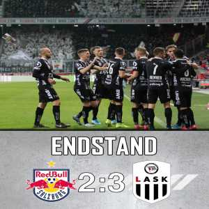 LASK takes the lead in the Austrian Bundesliga after beating Red Bull Salzburg 2-3