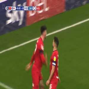 Cardiff City 1-[2] Wigan: Moore PK + Foul