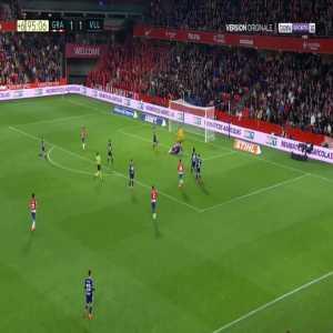 Granada [2]-1 Real Valladolid - Carlos Fernandez 90'+6'
