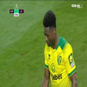 Tettey hits the post vs Liverpool 72'