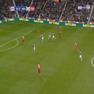 West Brom 1-0 Nottingham - Callum Robinson 37'