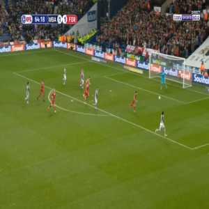 West Brom [2]-1 Nottingham Forest - Tobias Figueiredo OG 65'