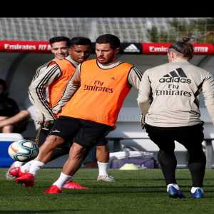 """Zidane confirms the return of Eden Hazard: """"It is time for him to return to the team. I am happy after 3 months. It is important for the team and he is a unique player. We did not want to rush, we have given it some more time. He is ready to play tomorrow."""""""
