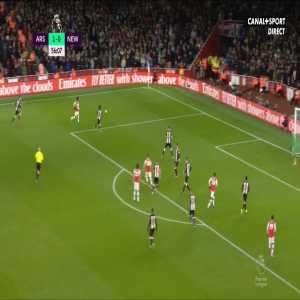 Arsenal 2-0 Newcastle United - Pépé 57'