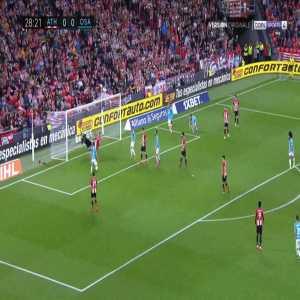Athletic Bilbao 0-1 Osasuna - Oier 29'