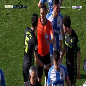 B. Iglesias (Bétis) red card against Leganes 90+3'