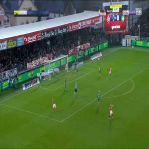 Brest 1-0 Saint-Etienne - P. Lasne 20'