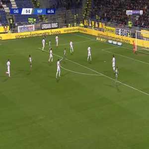 Cagliari 0-1 Napoli - Dries Mertens 65'