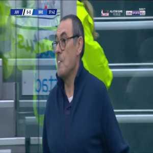 Juventus 1-0 Brescia - Dybala 38' Freekick