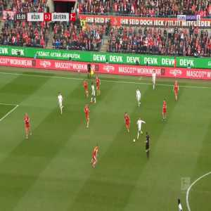 Köln 0-4 Bayern München - S. Gnabry 66'