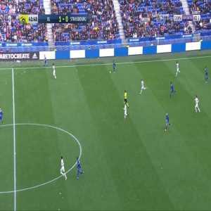 Olympique Lyonnais 1-[1] Strasbourg - L. Zohi 42'