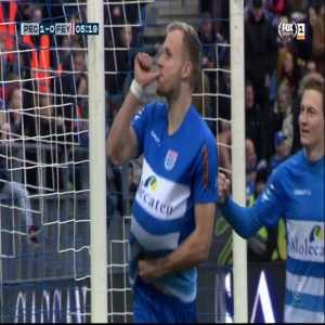 PEC Zwolle [1]-0 Feyenoord | Lennart Thy 5' Penalty
