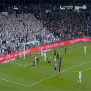 Real Madrid [1] - 1 Celta Vigo - Kroos 52'