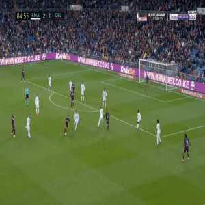 Real Madrid 2-[2] Celta Vigo - Santi Mina 85'