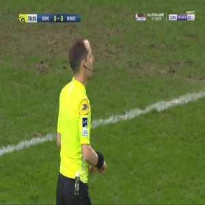 Reims 1-0 Rennes - E. Toure 72' Penalty