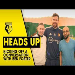 "Ben Foster on mental health: ""I think what's been holding society back for a while now is not being able to talk about stuff. Particularly men because it's such a taboo. Men don't do that, men are tough, men just get on with it - no, it's not that easy. It's so important to talk to somebody."""