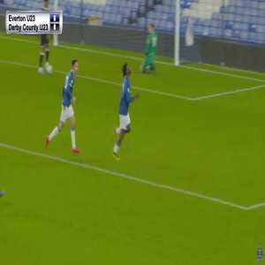 Everton U23s [1] - 0 Derby Country U23s - Mampala 66'