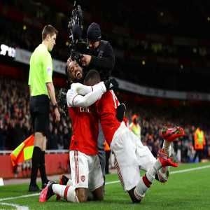 """Lacazette believes that Nicolas Pepe will continue his good form now that he has adapted to the Premier League """"He is someone who needs confidence and when you give him confidence he is better. He just needs time to understand how the league is and now we can see a really good Nicolas Pepe."""""""