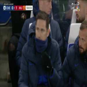 VAR review of Chelsea's disallowed goal vs United