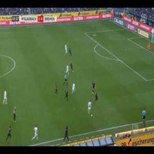 [OC] Borussia Mönchengladbach under Marco Rose playing beautiful passing sequences