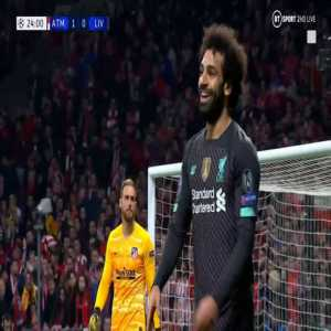 Salah foul Lodi - 23'