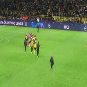 Neymar and Mbappe leave game without acknowledging fans. Dortmund vs PSG