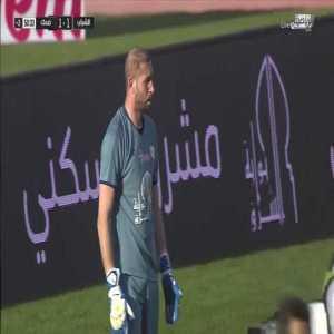 Al-Shabab 1 - [1] Damac — Rafael Costa 45' +5 (FK) — (Saudi Pro League - Round 19)