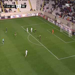 APOEL 0-2 FC Basel - Valentin Stocker 54'