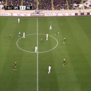 APOEL 0-3 FC Basel - Arthur 66'