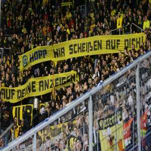 Dortmund fans won't be allowed to travel to Hoffenheim for the next 3 years due to insults towards Dietmar Hopp