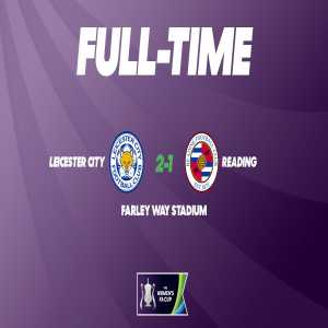 FA Women's Championship side Leicester cause a cup upset, knocking Reading of the FA Women's Super League out of the FA Cup in the 5th Round (2-1 AET)