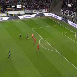 Frankfurt 4-0 RB Salzburg - Filip Kostic 56'