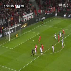 Leverkusen 2-0 FC Porto - Kai Havertz penalty 57'