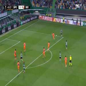 Sporting 2-0 Basaksehir - Andraz Sporar 44'