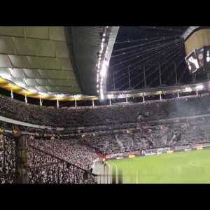 2/20/2020 Nazi scum silenced by Eintracht Frankfurt Fans (begins at 2:00)