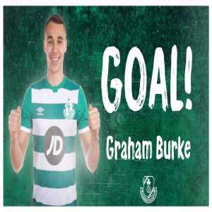 Graham Burke has scored FIVE goals tonight for Shamrock Rovers