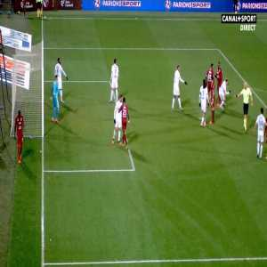 Habib Diallo (Metz) straight red card against Lyon 81'