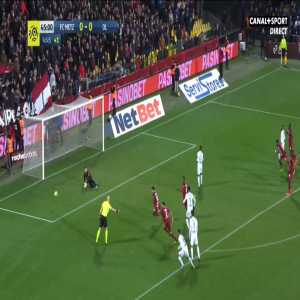 Metz 0-1 Lyon - Moussa Dembele penalty 45'+8'