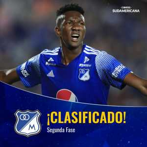 Millonarios have advanced to the Second Stage of the Copa Sudamericana