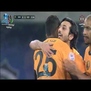 Saif Alhashan fantastic bicycle kick goal