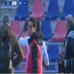 Bologna 0-1 Udinese - Stefano Okaka 33'